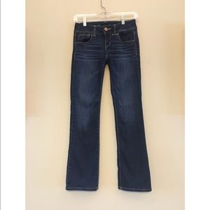 Slim boot size 0 American Eagle jeans